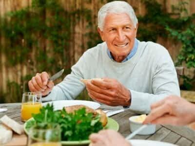 dieta de los mayores en otoño